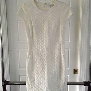 Diane von Furstenberg DVF white dress. Size 0