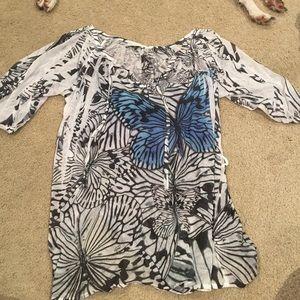Butterfly dress/beach cover