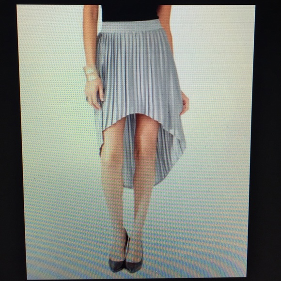 25 forever 21 dresses skirts gray midi high low