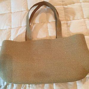 Target Handbags - Straw Purse