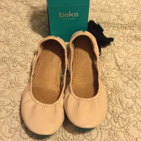 Tieks Shoes | Tieks Size 9 Patent Nude