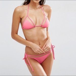 💗 Pink Cut Out ASOS Bathing Suit 💗