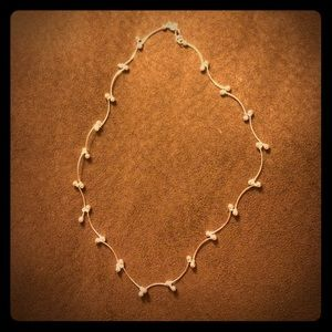 Michel Studio Jewelry - Silver jointed Necklace