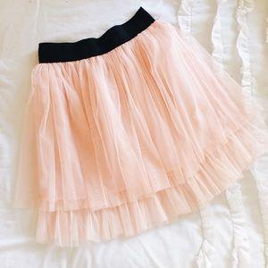 Pink Tutu Tulle Skirt