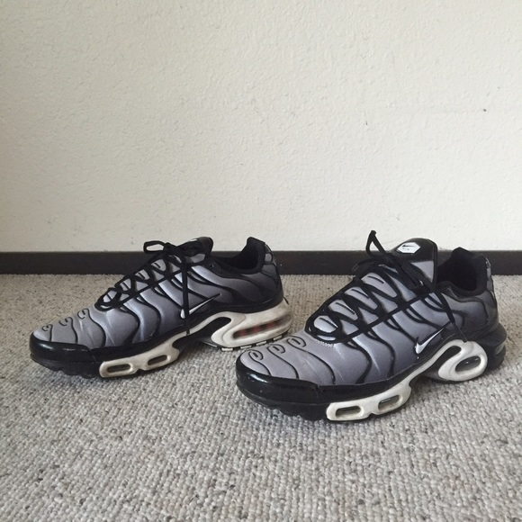Rare Nike Air Max TN Wolf Grey Trainers Men's 11