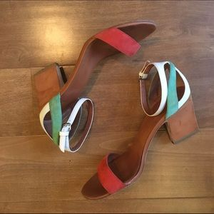 Marc by Marc Jacobs Color Weave Heel Sandal