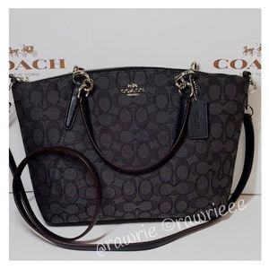 🎀LOWEST🎀 Coach signature small kelsey Satchel