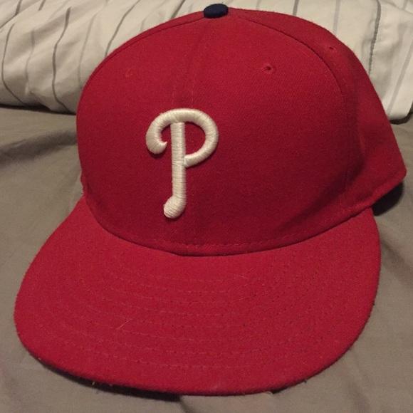 b31a5f313dc Philadelphia Phillies size 7 1 4 NewEra hat. M 577740d2f09282bd9b01f667