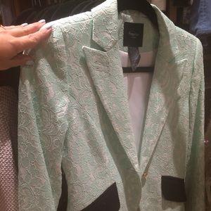 Smythe Jackets & Blazers - Green lace jacket