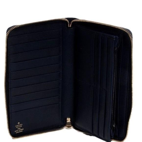 gucci zipper wallet. gucci bags - sold gucci navy guccissima large gg zippy wallet. zipper wallet