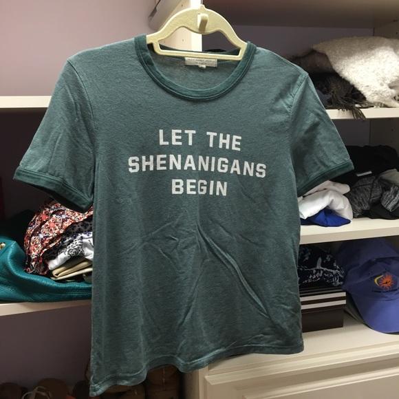 Lasciare Che I Shananigans Cominciano T-shirt OSvfb7JT1o