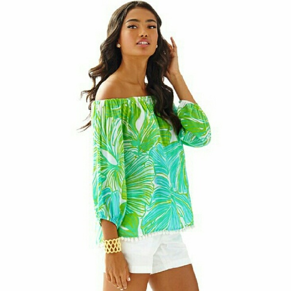 8431511d742328 Lilly Pulitzer Tops - Lilly Pulitzer Enna Top