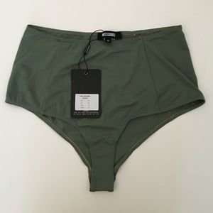 Missguided Other - High waisted Bikini Bottoms