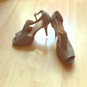 Marco Santi Shoes - Marco Santi beige heels!
