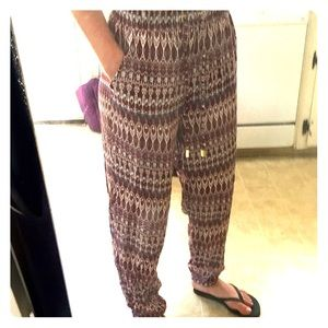 Atmosphere Pants - Printed Pants