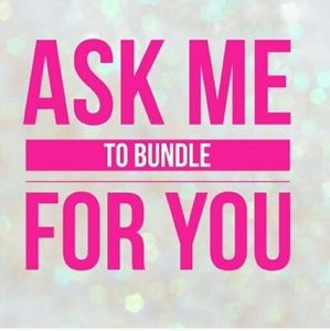 Ask me to bundle for you!