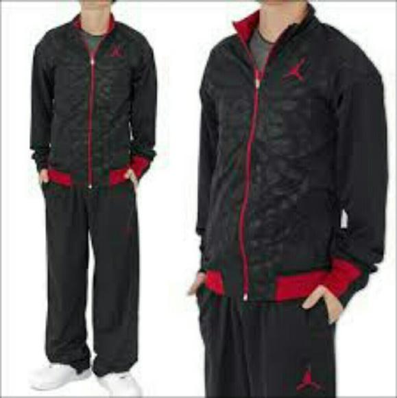 f174c3dd82a Jordan Pants | Suit Red And Black Jacket And Pant Set | Poshmark