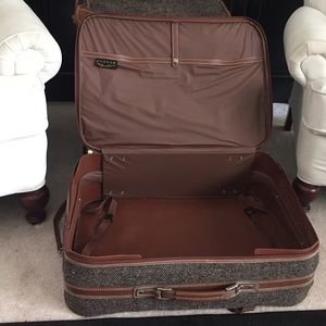Jaguar Bags - Vintage Jaguar 4 Piece Tweed Luggage Set 52d8e1838