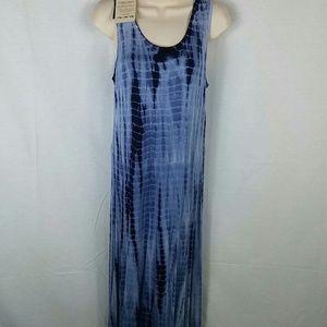 purple flame Dresses & Skirts - Blue tie dye maxi dress nwt medium