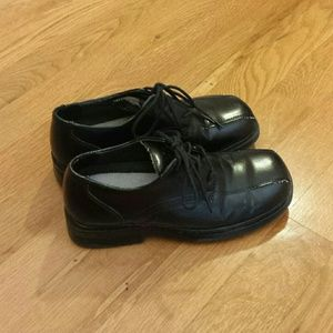 Deer Stags Other - Boys Black Tie up shoes size US 1