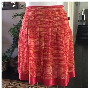 Bob Mackie Silk Skirt