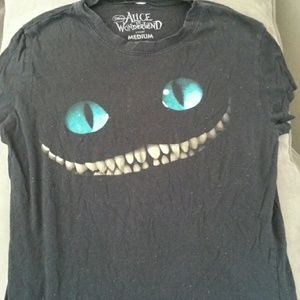 Cheshire grin t-shirt Alice in Wonderland disney