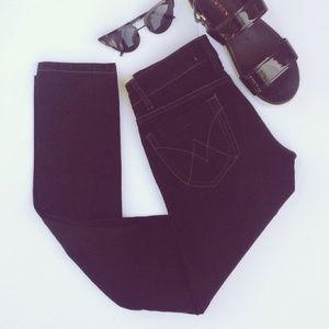 $90 Lola Black Slim Skinny Jeans