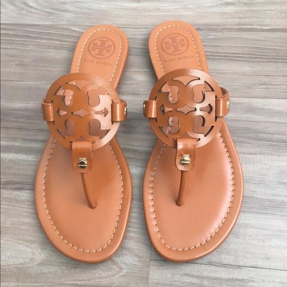 a91103c2f3d67c Tory Burch Miller sandals In Vintage Vachetta