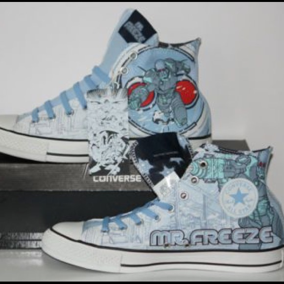 f56cccbe921 Converse Shoes - Limited edition Batman villain Mr. Freeze converse