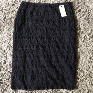 Studio M Dresses & Skirts - NWT! ❤️SALE❤️BLACK LACE SKIRT