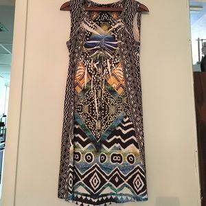 Style & Co Dresses & Skirts - INC CASUAL ICAT PRINT SUMMER DRESS