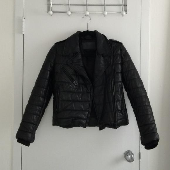 102dcb8ae Alexander Wang x H&M Genuine Leather Puffer Jacket