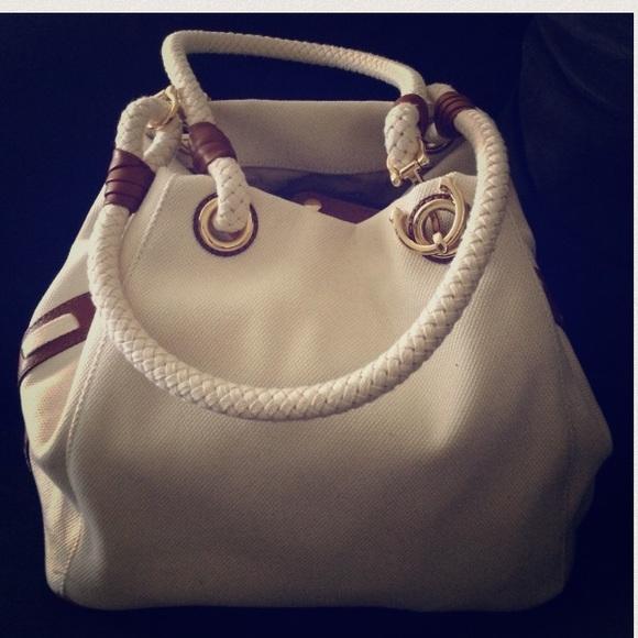 b5222b88afde MICHAEL Michael Kors Bags | Michael Kors Marina Grab Bag Anchor Tote ...