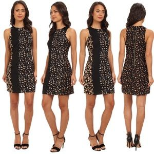 📿Vince Camuto📿Mixed Leopard Dress
