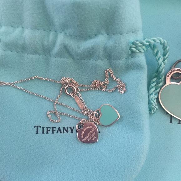 3dda49ead Tiffany & Co. Jewelry   Return To Tiffany Mini Heart Necklace   Poshmark