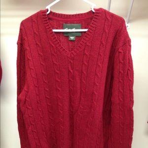 2 Men's Wool Sweaters - New!