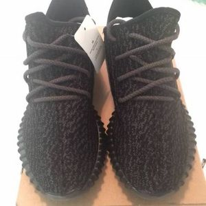 938247fa0 ... spain adidas shoes yeezy boost 350 size 8 pirate black authentic 21490  2831d