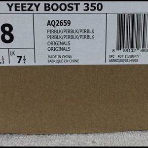Adidas Shoes - Yeezy Boost 350 Size 8 Pirate Black AUTHENTIC