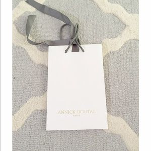Other - Authentic Annick Goutal Paris shopping bag