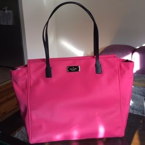 NWT Kate Spade Canvas Tote