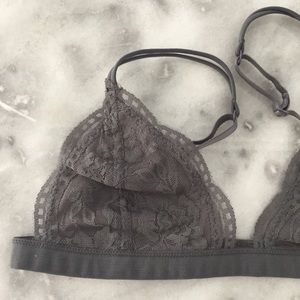 Other - Gray Lace Bralette