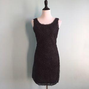 Charcoal Silk J. Crew Dress