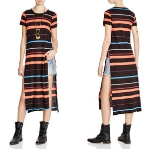 Free People $98 Too Legit Stripe Tunic S