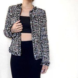 Boston Proper Jackets & Blazers - • Boston Proper • Sequin Tweed Parisian Jacket