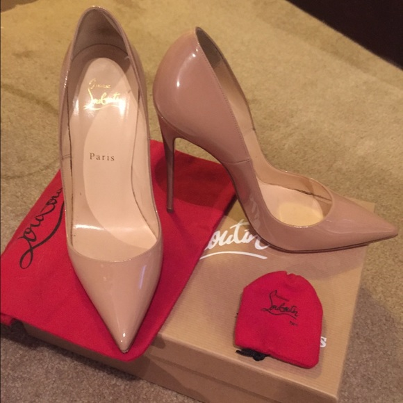 0b2aac3f83c1 Christian Louboutin Shoes - Authentic Nude So Kate Louboutin Heels Size 38 1  2