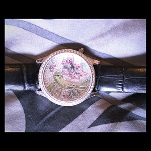 Victoria Wieck Accessories - Victoria Wieck Silver Hummingbird Watch