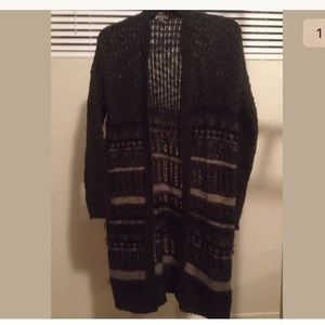 Ecote XS fair isle sweater-coat  Urban outfitters