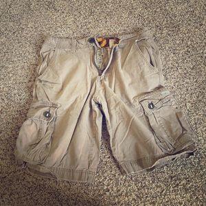 Men's Lucky Brand khaki shorts