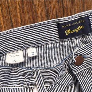 Marc Jacobs for Wrangler Striped Newsboy Shorts