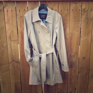 Coach Jackets & Blazers - Khaki Coach Trench Coat